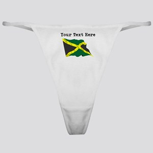 Custom Jamaica Flag Classic Thong