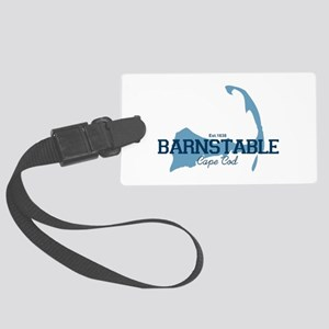 Barnstable - Cape Cod - Map. Large Luggage Tag