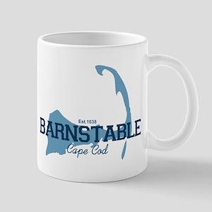 Barnstable - Cape Cod Map. Mug Mugs