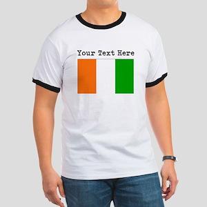 Custom Ivory Coast Flag T-Shirt