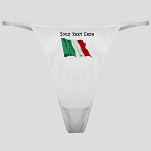 Custom Italy Flag Classic Thong