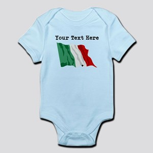 Custom Italy Flag Body Suit