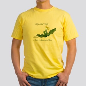 NATIVE AMERICAN PLANTS Yellow T-Shirt