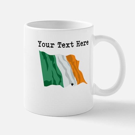 Custom Ireland Flag Mugs