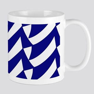 Blue and white flags Mugs