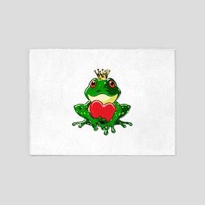 Prince Froggy 5'x7'Area Rug