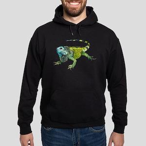 Oh How Iguana Go Home Hoodie (dark)
