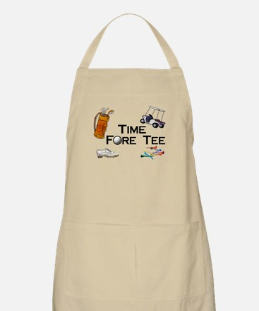 golfing time fore Apron