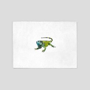 Oh How Iguana Go Home 5'x7'Area Rug