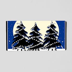 Happy Holidays! Aluminum License Plate