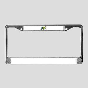 Oh How Iguana Go Home License Plate Frame
