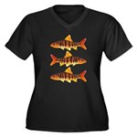 African Banded Barb Plus Size T-Shirt