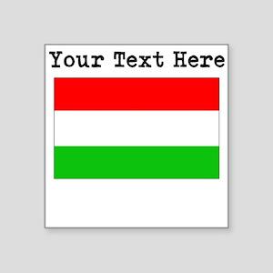 Custom Hungary Flag Sticker
