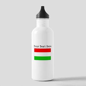 Custom Hungary Flag Water Bottle