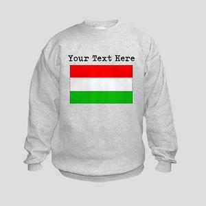 Custom Hungary Flag Sweatshirt