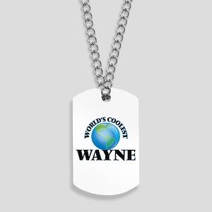 World's Coolest Wayne Dog Tags