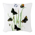 Butterfly 29 Woven Throw Pillow