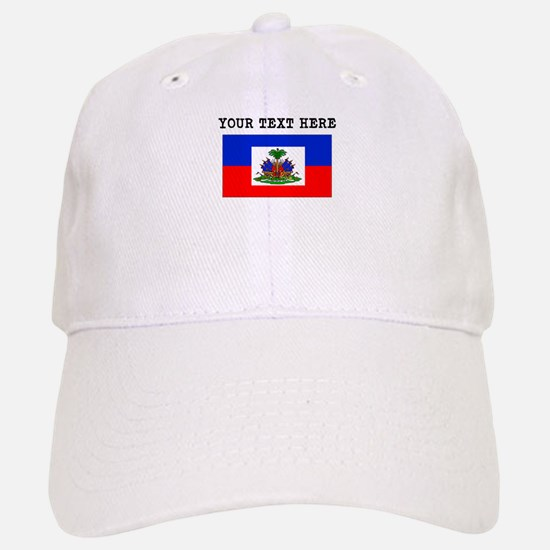 Custom Haiti Flag Baseball Baseball Baseball Cap