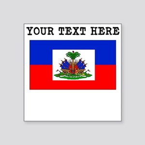 Custom Haiti Flag Sticker