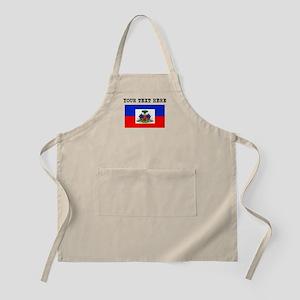 Custom Haiti Flag Apron