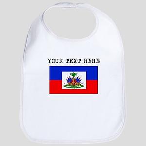 Custom Haiti Flag Bib