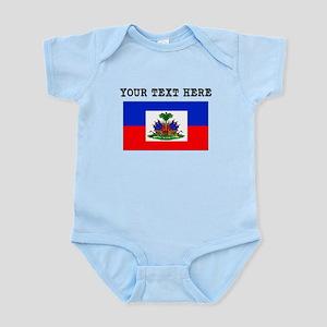 Custom Haiti Flag Body Suit