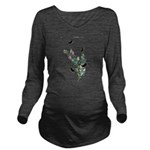 Butterfly 29 Long Sleeve Maternity T-Shirt