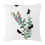 Butterfly 29 Woven Throw Pillow