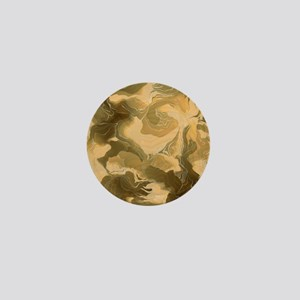 Swirling Desert Camo Mini Button (10 pack)