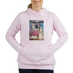 The Vikings Wife and the Frog Women's Hooded S