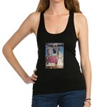 The Vikings Wife and the Frog Racerback Tank T