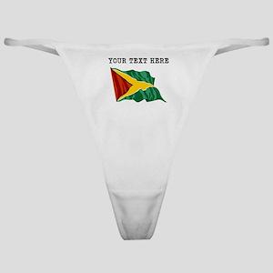 Custom Guyana Flag Classic Thong