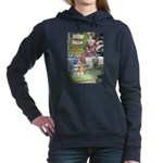 The Queen and Elise Women's Hooded Sweatshirt