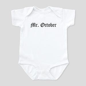 Mr. October Infant Bodysuit