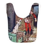Soldier and the Dog Bib