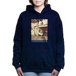 CINDERELLA2_BLUE Women's Hooded Sweatshirt
