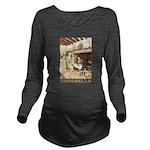 CINDERELLA2_GOLD Long Sleeve Maternity T-Shirt