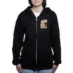 CINDERELLA2_GREEN Women's Zip Hoodie