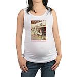 CINDERELLA2_PINK Maternity Tank Top