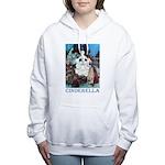 CINDERELLA_BLUE Women's Hooded Sweatshirt