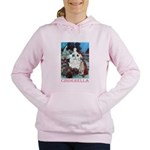 CINDERELLA_PINK Women's Hooded Sweatshirt