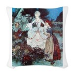 CINDERELLA_PINK Woven Throw Pillow