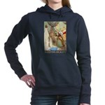 Sleeping Beauty_GOLD Women's Hooded Sweatshirt