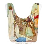 Sleeping Beauty_GOLD Bib
