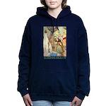 Sleeping Beauty_GREEN Women's Hooded Sweatshir