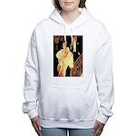 Lyendecker 1 Women's Hooded Sweatshirt