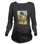 Tennie Weenies082 Long Sleeve Maternity T-Shir