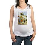 Tennie Weenies082 Maternity Tank Top