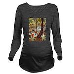 Tennie Weenies084 Long Sleeve Maternity T-Shir