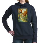 Tennie Weenies085 Women's Hooded Sweatshirt